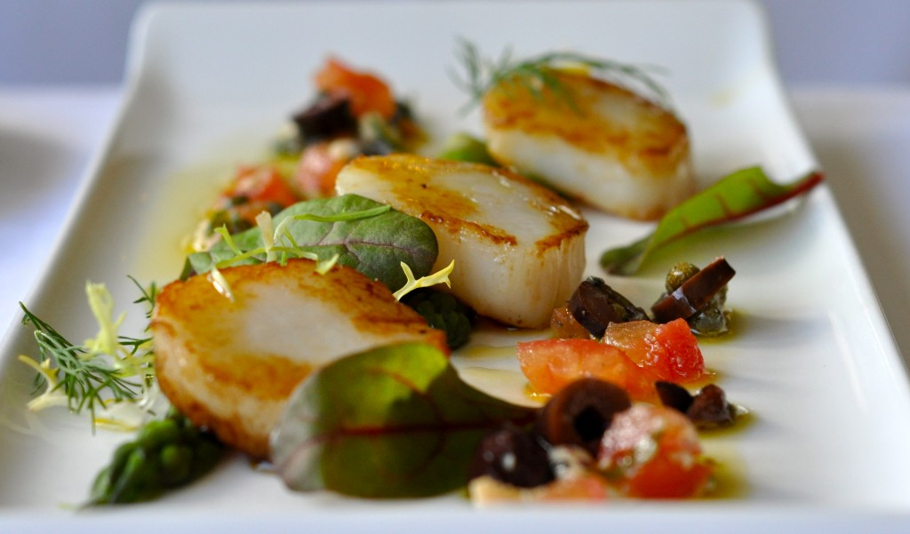 Flackley Ash Pan Fried Scallops