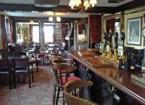 Inside New Inn Winchelsea