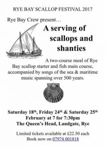 A Serving of Scallops and Shanties